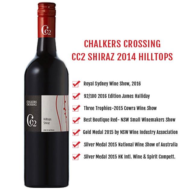Chalker Crossings CC2 Shiraz 2014