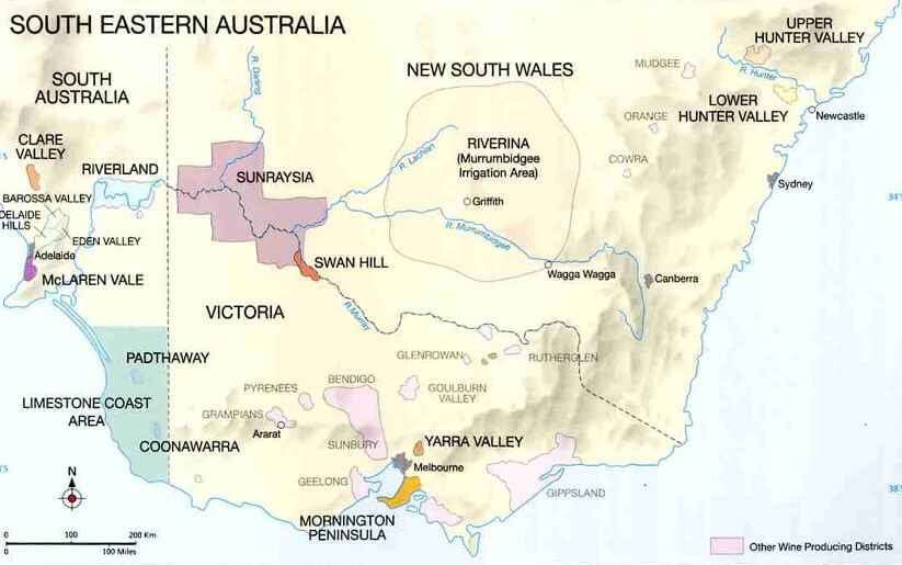south australia wine regions and festivals