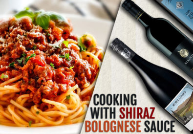 cooking with shiraz bolognese sauce