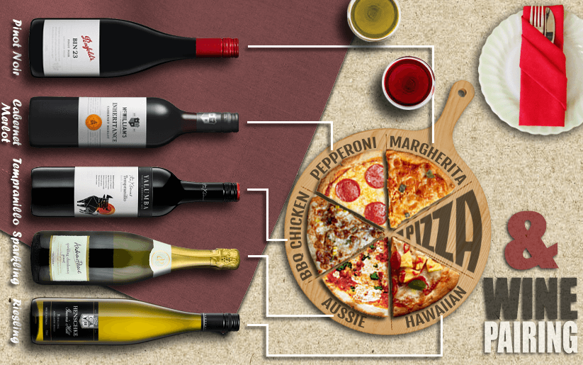 Pizza and Wine pairing