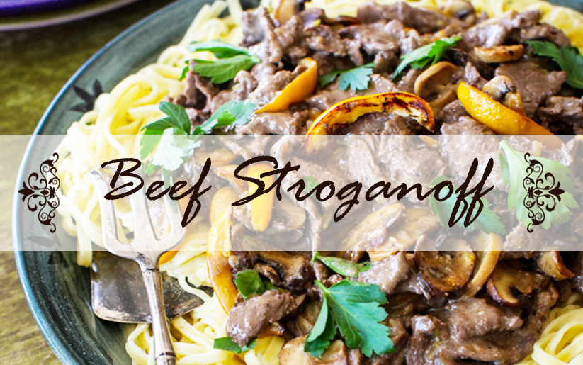 Beef stroganoff made quick easy all about wines and wineries of there are several versions of beef stroganoff some recipes suggest using cream forumfinder Images