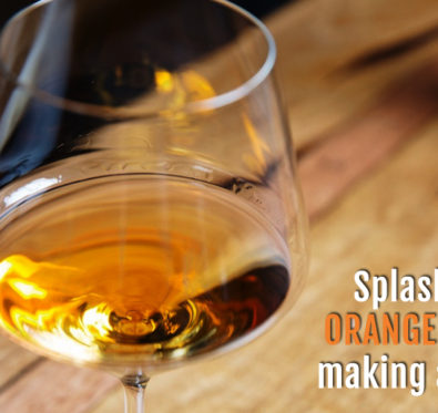 Orange wine making a buzz
