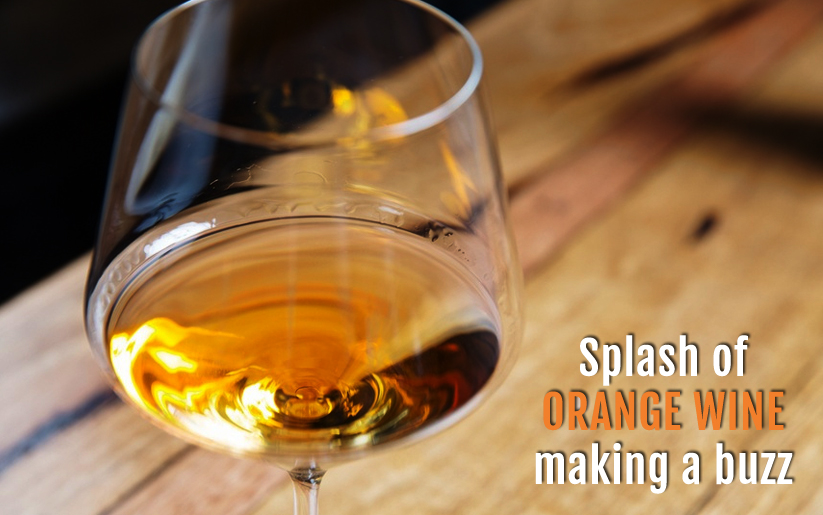 Orange wine making a buzz