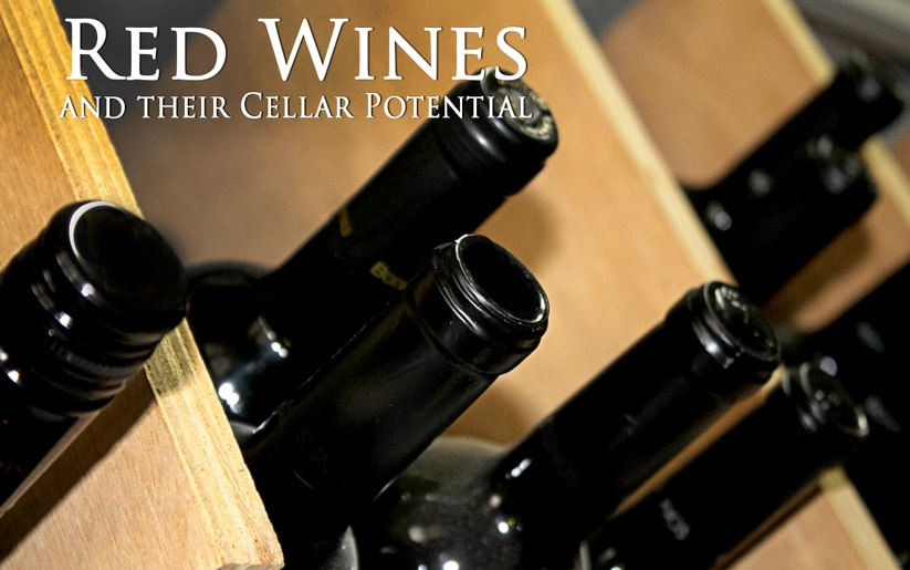 Cellaring potential of red wines