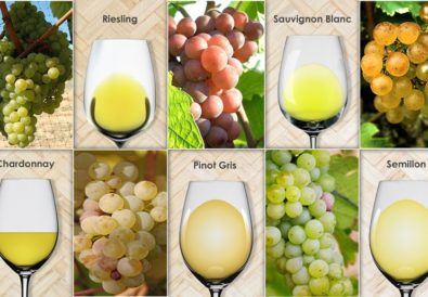 Regions That Produce The Top 5 White Varietals