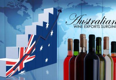 Australian Wine Exports Surging